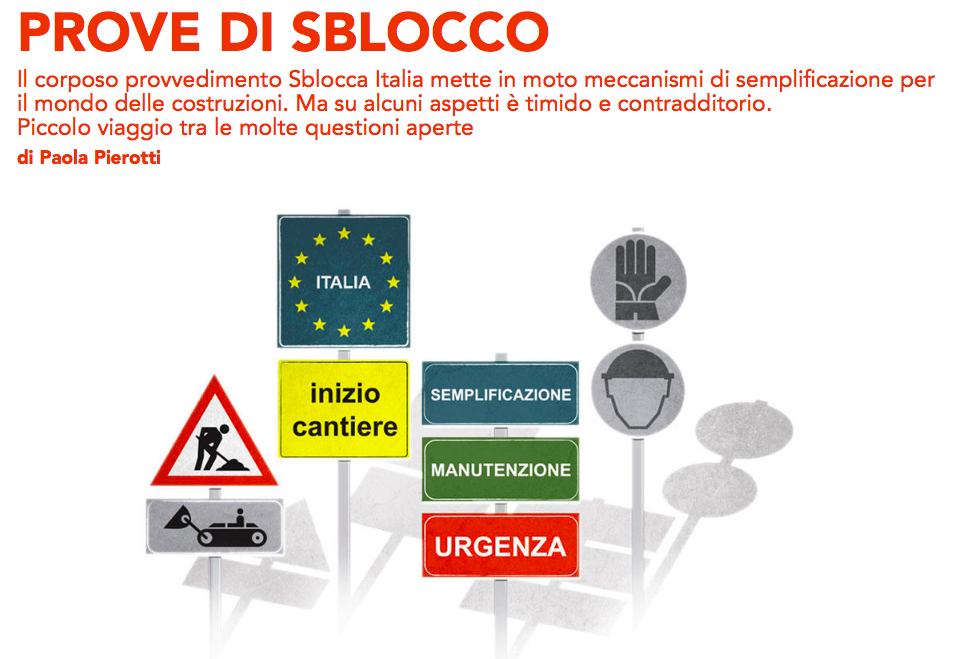 Il Bignami dello Sblocca Italia. Cosa succede nel mondo della progettazione?