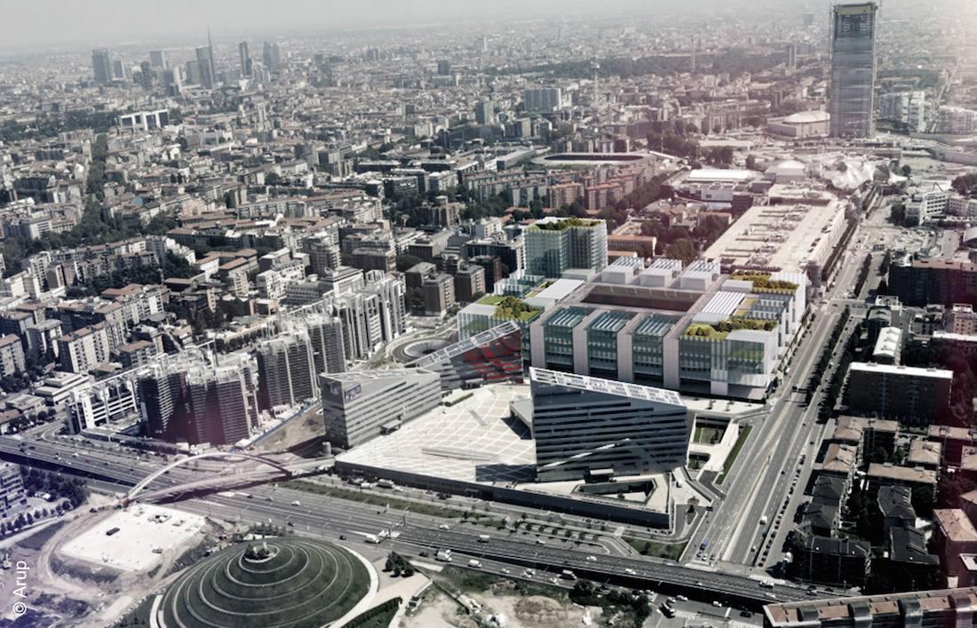 Il nuovo stadio del Milan: metodo e linguaggio Arup. Intervista ai progettisti