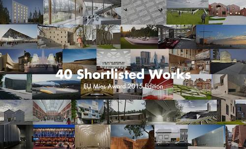 Mies Award 2015: tra 40 opere europee 4 sono made in Italy