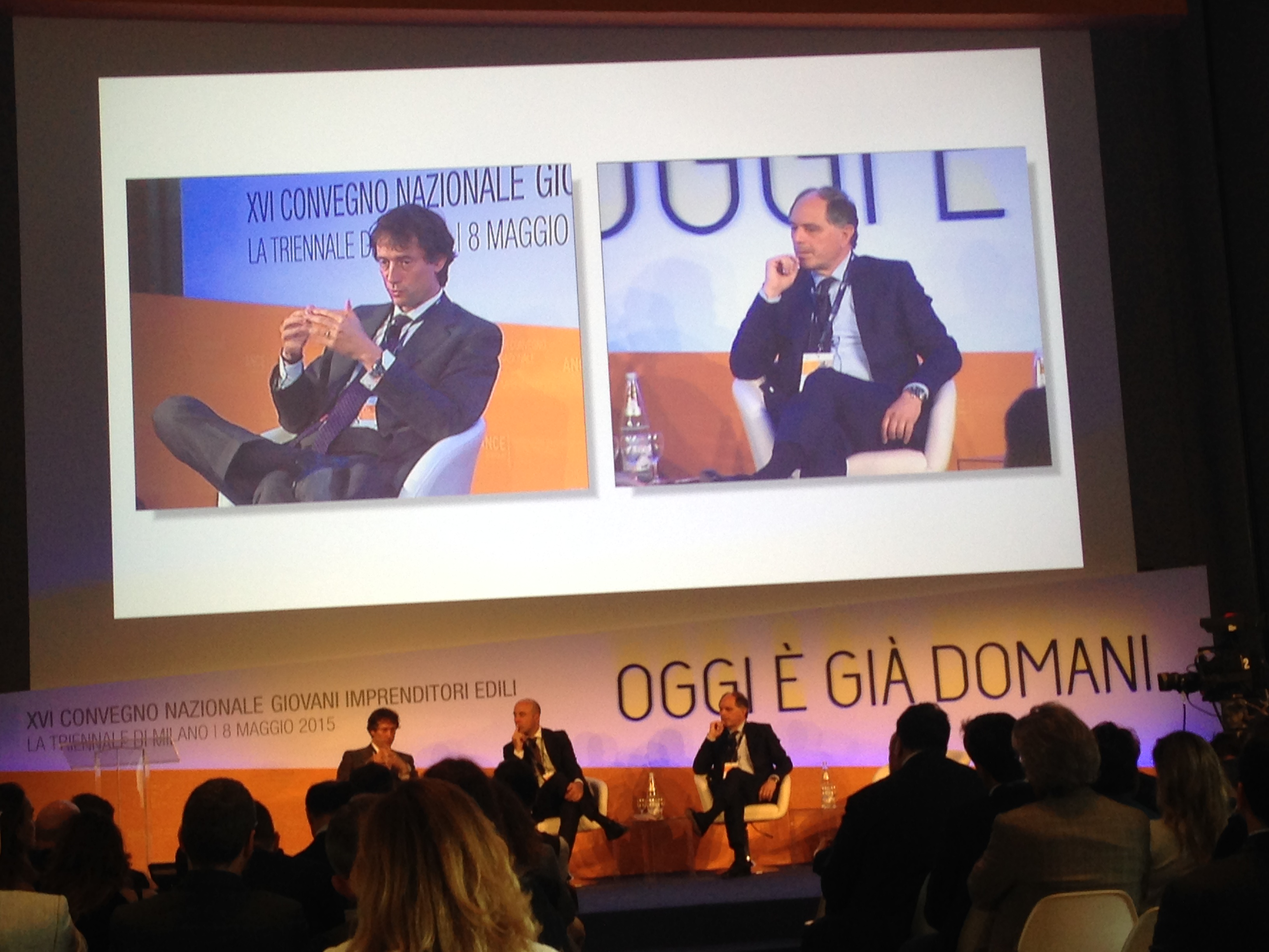 Paolo Buzzetti e Filippo Delle Piane: Presidente Ance VS Presidente Ance Giovani