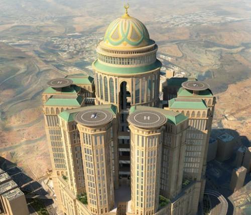 Un monumento per la mecca in costruzione l hotel pi for L hotel piu bello del mondo