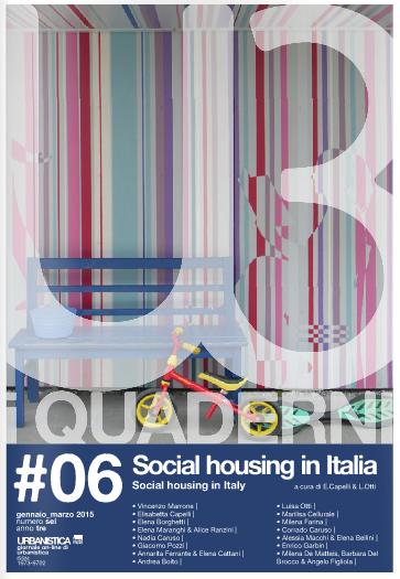 Social housing in Italia, il punto di vista del quaderno di Urbanistica Tre