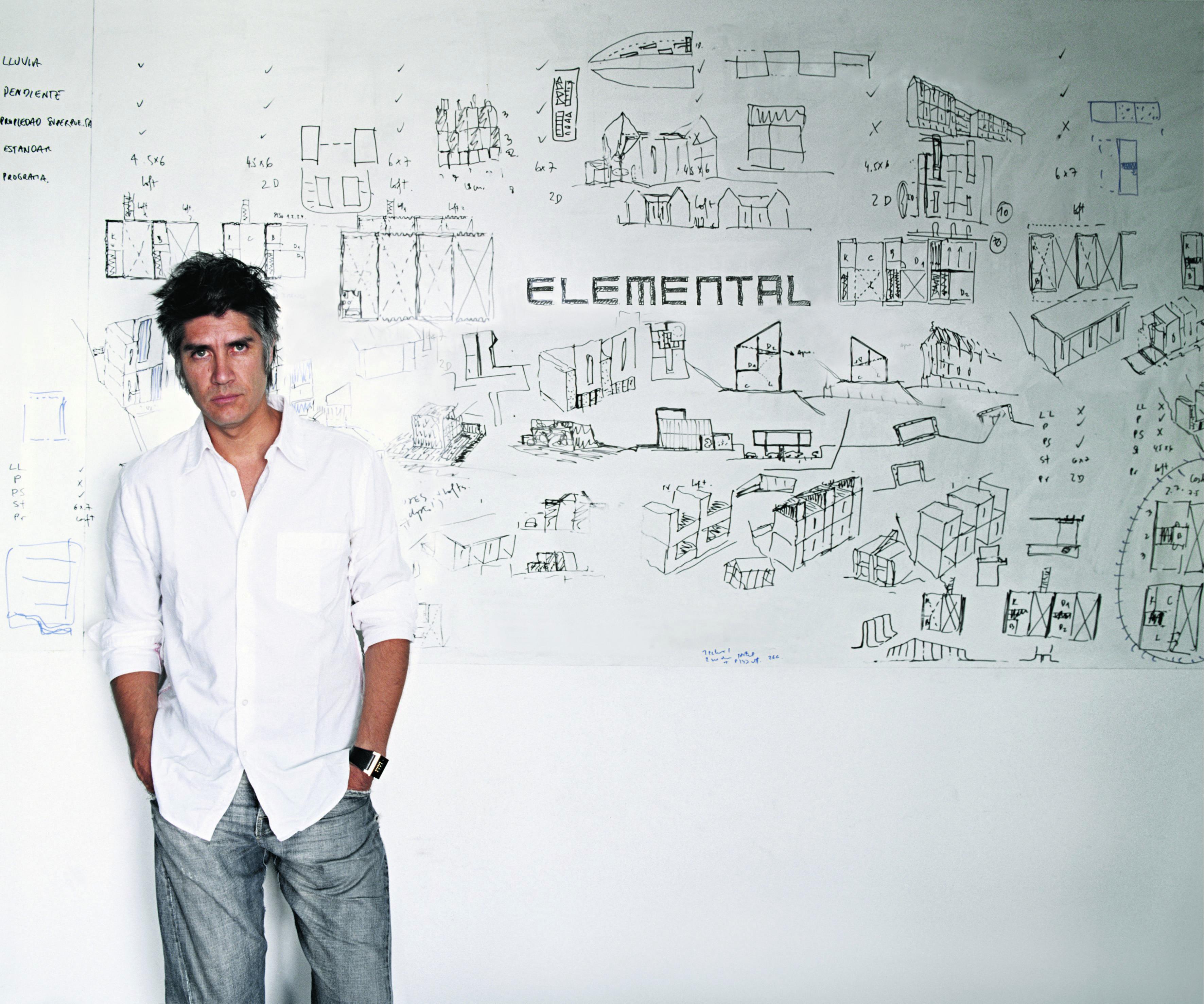 Alejandro Aravena è il direttore artistico della Biennale Architettura 2016