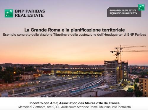 I sindaci dell'Ile de France a lezione alla Tiburtina: stazione e headquarter privato