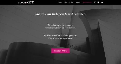 Spoon City, la start up che fa incontrare domanda e offerta per l'architettura