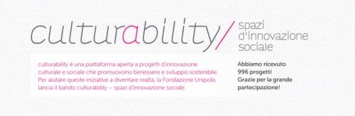 Culturability, ecco i sei progetti di rigenerazione urbana finanziati da Unipolis
