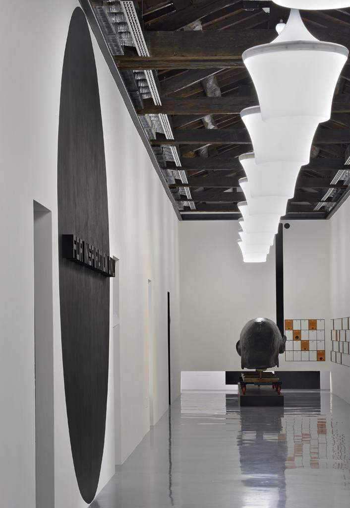 Italo Rota taglia il nastro del Palazzo dei Musei di Reggio Emilia