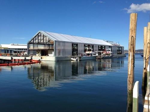 A lezione sul waterfront. Ecco il nuovo terminal di Hobart che diventa spazio pubblico