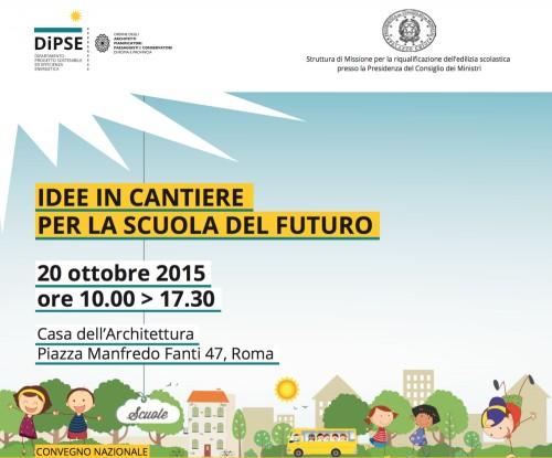#scuoleinnovative Il Miur lancia un concorso internazionale per 54 nuove scuole