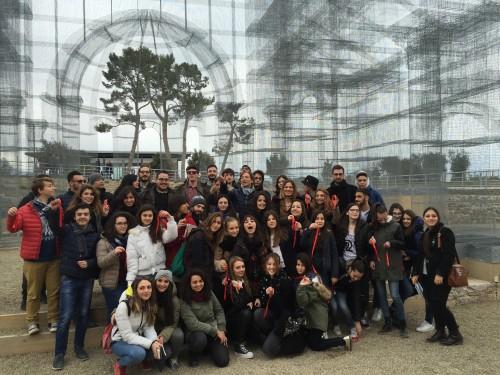 Cinquanta studenti, universitari e liceali, vanno a lezione a Santa Maria di Siponto