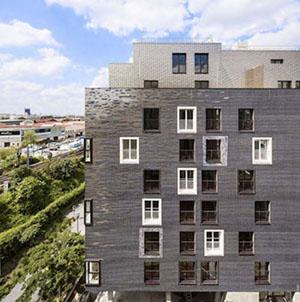 Sei angeli nel cielo di Parigi: 5+1AA consegna un complesso residenziale con 183 alloggi