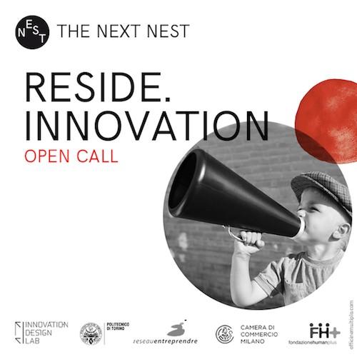 Reside Innovation Call: cercasi startup, progetti e soluzioni per l'abitare