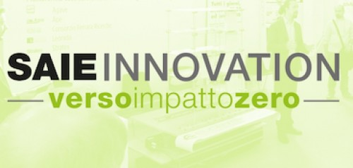 SAIE INNOVATION – verso impatto zero