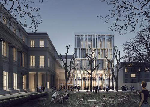 Da Roma a Parigi, i giovani di stARTT firmano l'ampliamento dell'hotel de Gallifet