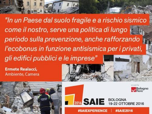 Terremoto nel Centro Italia. Il mondo delle costruzioni richiama l'attenzione sulla prevenzione
