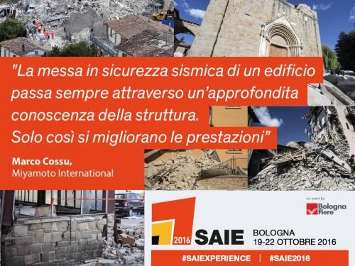 Miyamoto sul terremoto del Centro Italia: lettura tecnica per capire e poi agire