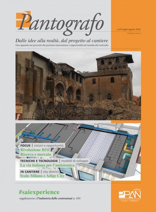 Con l'Industria delle costruzioni #Saiexperience per il terzo numero di Pantografo