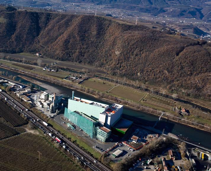 A Bolzano un termovalorizzatore che produce energia per 20mila alloggi
