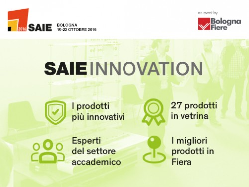 SAIE 2016: the best of SAIE Innovation