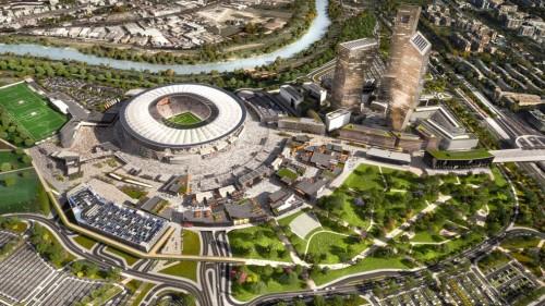 Dopo i primi 150 giorni della giunta Raggi, lo stadio della Roma resta in bilico