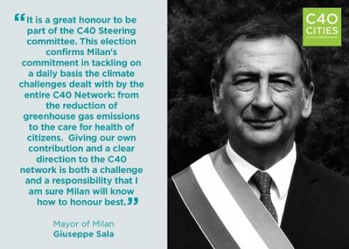 C40, il sindaco di Milano a Città del Messico per il summit sulle politiche climatiche