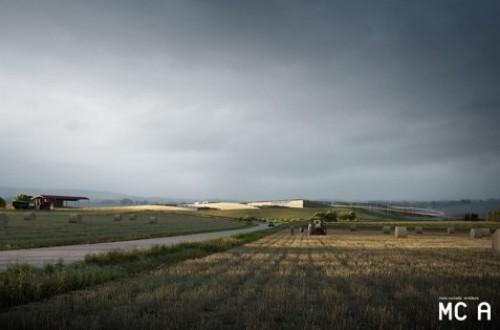 Natura e architettura rinascono dalla discarica: la fabbrica del futuro made in Tuscany