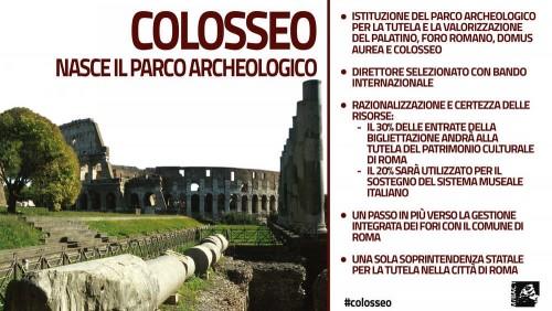 Cercasi direttore per il parco archeologico del Colosseo