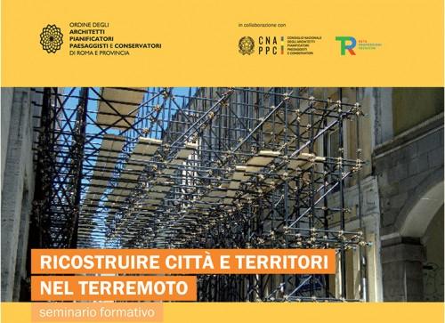 Cento architetti romani al lavoro sul post sisma