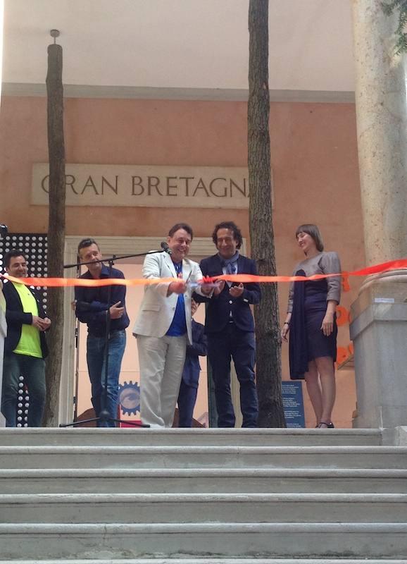Fotoracconto: l'inaugurazione del padiglione curato dal British Council