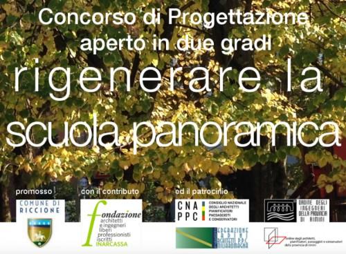 Riccione lancia un concorso (308mila euro di incarico) per la scuola panoramica