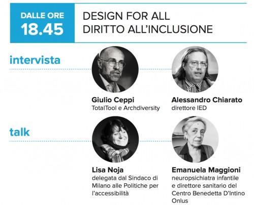 #paroleinchiostro Cercasi cultura e consapevolezza per promuovere il design for all