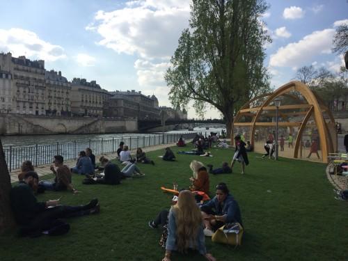 Parigi: la riconquista delle rive della Senna con il Parc Rives de Seine