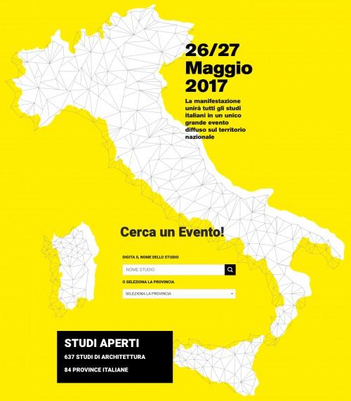 Gli architetti si raccontano con Open: 637 studi di architettura aperti in tutt'Italia